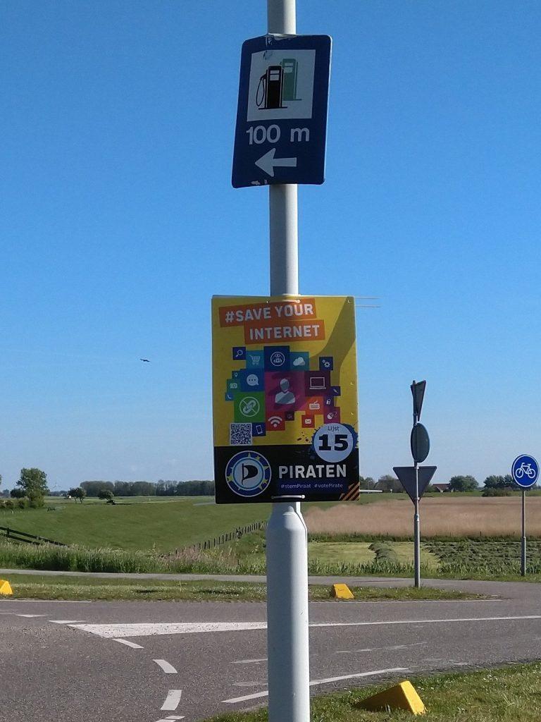 Makkum IJsselmeer plakkaat