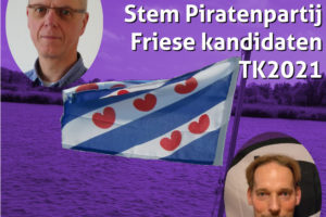 Piratenpartij Friese Kandidaten #TK2021